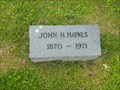 Image for 100 - John H Haynes - Evansville, IN