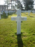 Image for T/Sgt Frank D. Peregory - Normandy American Cemetery - Colleville-sur-Mer, France