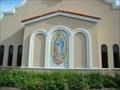 Image for San Sebastian Catholic Church Mosaic Mural - St. Augustine, Florida