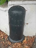 Image for London County Council Boundary Post, Windmill Drive, Clapham, London, UK