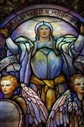 Image for Tiffany window at Arlington Street Church