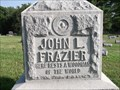Image for John L. Frazier - Rose Hill Cemetery - Hillsboro, IN