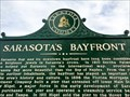 Image for Sarasota's Bayfront - Historical Marker - Sarasota, Florida, USA.