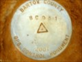 Image for Bartow County GPS Control Disk-BC 051