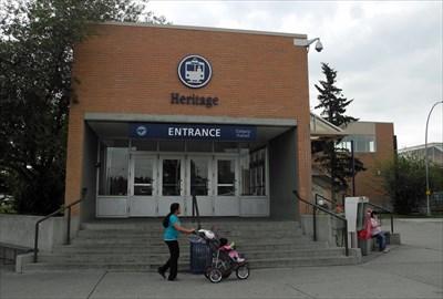 Heritage Station entrance