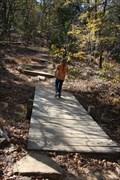 Image for Buckhorn Trail Footbridge -- Lake Murray State Park, Ardmore OK