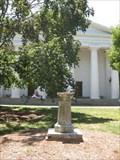 Image for Chapel Sundial - North Campus Quad - Athens, GA