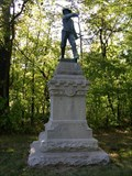 Image for Tennessee Federal Cavalry Monument ~ Chickamauga Georgia