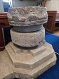 Image for Ancient Font - Church of St Mary - Pennard, Gower, Wales.