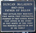 Image for First Settler Duncan McLaurin - Dillon, SC, USA