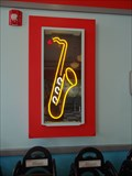 Image for Saxophone neon sign - Legoland, Florida