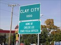 Image for Clay City, Illinois.  USA.