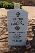 Image for Victor Hugo Espinoza - Fort Bliss National Cemetery - El Paso, TX