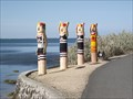 Image for Eastern Beach Bathers Bollards - Geelong Waterfront, Victoria, AU
