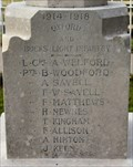 Image for Dinton War Memorial - Bucks