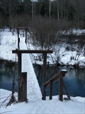Image for Chapman State Park - Warren County PA - Suspension Bridge