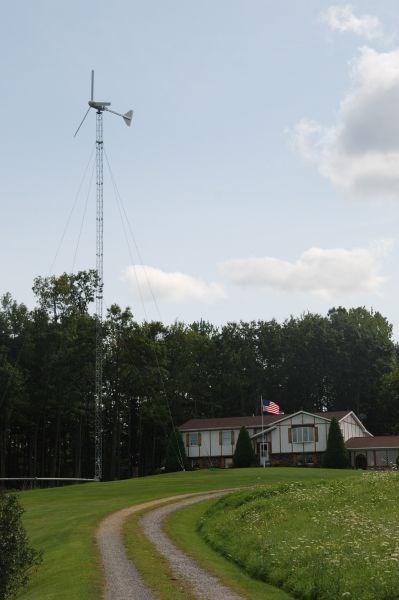 Residential Windmill Near Tiadagton Pa Windmills On Waymarkingcom