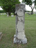 Image for A.D. Harris - Eakins Cemetery - Ponder, TX