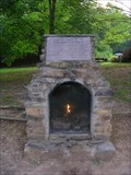 Image for Eternal Flame of the Cherokee Nation ~ Red Clay Park, Tennessee.