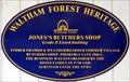 Image for Jones's Butchers Shop - Wood Street, Walthamstow, London, UK