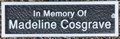 Image for Madeline Cosgrave Memorial Tree