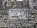 Image for Beds/Bucks County Boundary, Turvey, UK