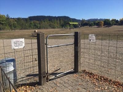 Entrance Gate, Eugene, Oregon