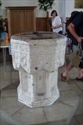 Image for The Font, St.Lawrence's Church, Rowhedge, Essex.