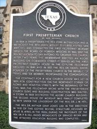 First Presbyterian Church Of San Antonio Texas