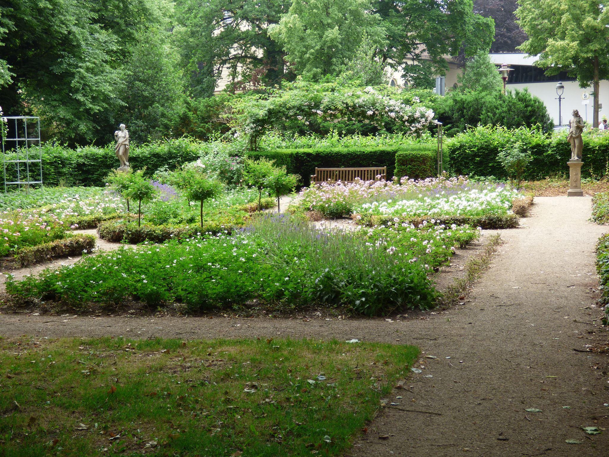 Französischer Garten Celle Niedersachsen Germany Image