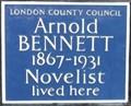 Image for Arnold Bennett - Cadogan Square, London, UK