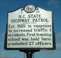 Image for North Carolina State Highway Patrol, Marker C-76