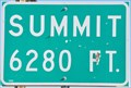Image for US Highway 50 & 6 Summit ~ Elevation 6280 feet