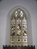 Image for St Mary's Church Windows - Stowe, Buckingham, Buckinghamshire, UK