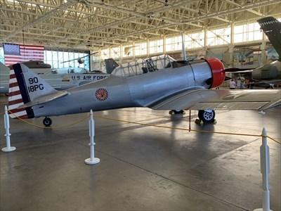 North American T-6 Texan, Ford Island, Pearl Harbor, Hawaii