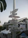 Image for Billy's Direction Marker - Tierra Verde, FL