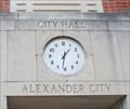 Image for City Hall Clock -- Alexander City AL