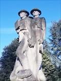 Image for War Memorial of the 24th East Surrey Division, Battersea Park, London, UK