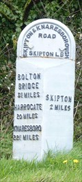 Image for Milestone - Long Causway, Embsay, Yorkshire, UK.