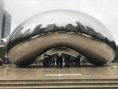 "Cloud Gate, ""The Bean"", Chicago, Illinois"