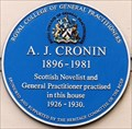 Image for A J Cronin - Westbourne Grove, London, UK