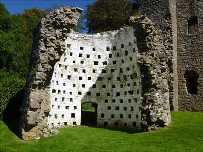Oxwich Castle Dovecote.