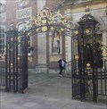 Image for Gates of the Guild Hall, Worcester, Worcestershire, England