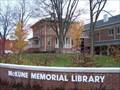Image for McKune Memorial Library - Chelsea, Michigan