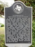Image for Founding Site of First Baptist Church of Goliad