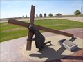 Image for Jesus Christ - 3rd Station Of The Cross - Groom, Texas, USA.