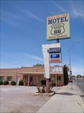 Image for Historic Route 66 - Deluxe Inn Motel - Seligman, Arizona, USA.