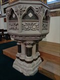 Image for Baptismal Font - St Peter's Church, Bournemouth,  UK.