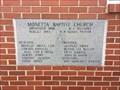 Image for 1983 - Monetta Baptist Church - Monetta, SC
