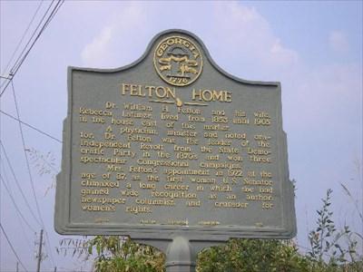 Felton Home  Cartersville, Bartow County - Georgia